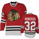 Chicago Blackhawks Authentic Style Red Game Jersey #32 Kris Versteeg
