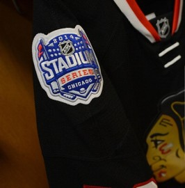 2014 Stadium Series  Authentic Style Chicago Blackhawks Jersey (Custom or Blank)