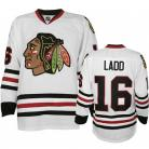 Chicago Blackhawks Authentic Style White Game Jersey #16 Andrew Ladd