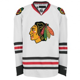 Chicago Blackhawks NHL Premium White Hockey Game Jersey