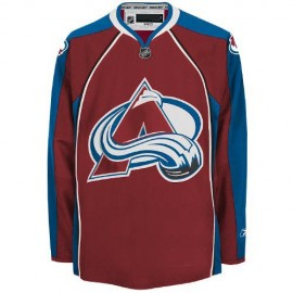 Colorado Avalanche NHL Premium Garnet Hockey Game Jersey
