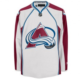 Colorado Avalanche NHL Premium White Hockey Game Jersey