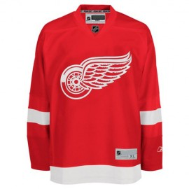 Detroit Red Wings NHL Premium Red Hockey Game Jersey