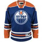 Edmonton Oilers NHL Premium Royal Blue Hockey Game Jersey