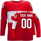 Team Canada 2014 Sochi Winter Olympics Red Jersey (Custom or Blank)