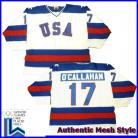 USA Olympic 1980 Miracle on Ice White Jack O'Callahan Hockey Jersey