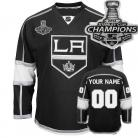 LA Kings Customized 2014 Stanley Cup Champions Black Jersey(Custom or Blank)