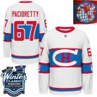 Montreal Canadiens  2016 Winter Classic Mens White Jersey 67 Max Pacioretty