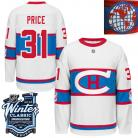 Montreal Canadiens  2016 Winter Classic Mens White Jersey 31 Carey Price