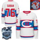 Montreal Canadiens  2016 Winter Classic Mens White Jersey 76 PK Subban