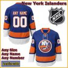 New York Islanders NHL Authentic Blue Hockey Game Jersey