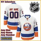 New York Islanders NHL Authentic White Hockey Game Jersey