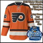 Philadelphia Flyers 2012 NHL Winter Classic Custom or Blank Jersey