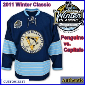Pittsburgh Penguins 2011 Winter Classic Custom or Blank Authentic Jersey
