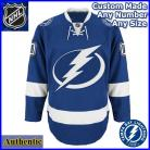 Tampa Bay Lighting 2nd Gen NHL Authentic Style Home Blue Hockey Game Jersey