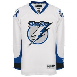 Tampa Bay Lightning NHL Premium White Hockey Game Jersey