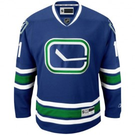Vancouver Canucks NHL Premium Navy Blue Alt Hockey Game Jersey
