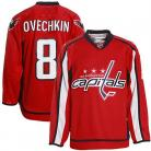 Washington Capitals NHL Authentic Style Red Jersey #8 Alexander Ovechkin