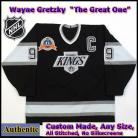 Wayne Gretzky 99 LA Kings Authentic Style Black 1993 Stanley Cup Jersey