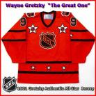Wayne Gretzky 1981 NHL Authentic Style All Star Game Jersey