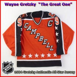 Wayne Gretzky 1984 NHL Authentic Style All Star Game Jersey