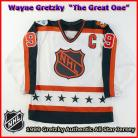 Wayne Gretzky 1989 NHL Authentic Style All Star Game Jersey