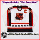 Wayne Gretzky 1991 NHL Authentic Style All Star Game Jersey