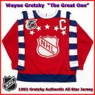 Wayne Gretzky 1992 NHL Authentic Style All Star Game Jersey
