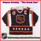 Wayne Gretzky 1993 NHL Authentic Style All Star Game Jersey