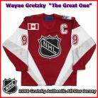 Wayne Gretzky 1998 NHL Authentic Style All Star Game Jersey