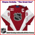 Wayne Gretzky 1999 NHL Authentic Style All Star Game Jersey