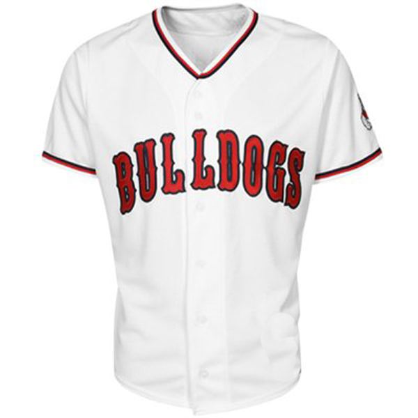 release date a8d3f aff31 Gonzaga Bulldogs White NCAA College Baseball Jersey
