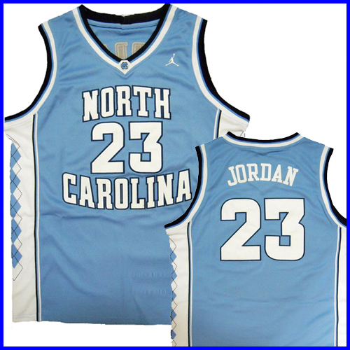 new styles b216e 90c04 North Carolina Tar Heels Authentic Style Jersey Blue #23 ...