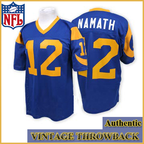 authentic rams jersey