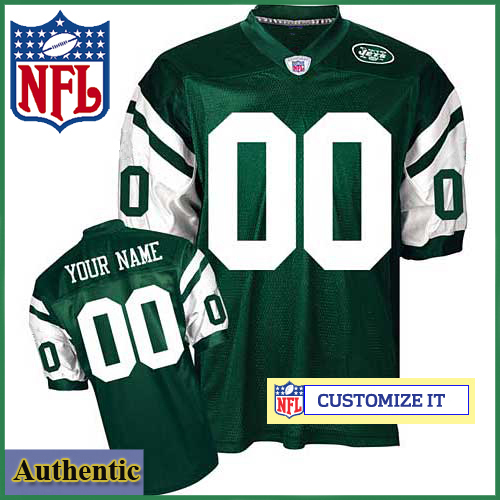 6fd8db63 New York Jets Womens RBK Style Authentic Home Green Jersey Customized