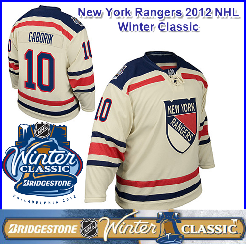 premium selection a072b 970b0 New York Rangers 2012 NHL Winter Classic Hockey Jersey 10 ...