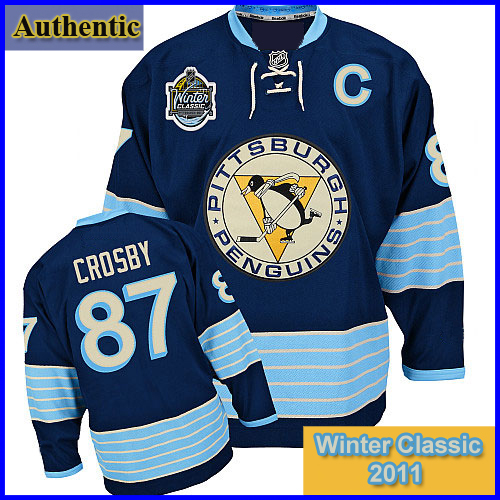 in stock 2dd7d c4b23 Pittsburgh Penguins 2011 Winter Classic Authentic #87 Sidney ...