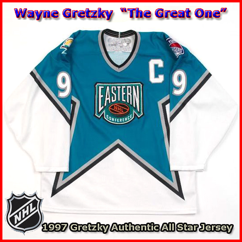 newest 9ac35 a3b87 Wayne Gretzky 1997 NHL Authentic Style All Star Game Jersey